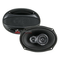 Memphis Audio 15-srx693 Street Reference Series 6x9 3-way Car Speakers