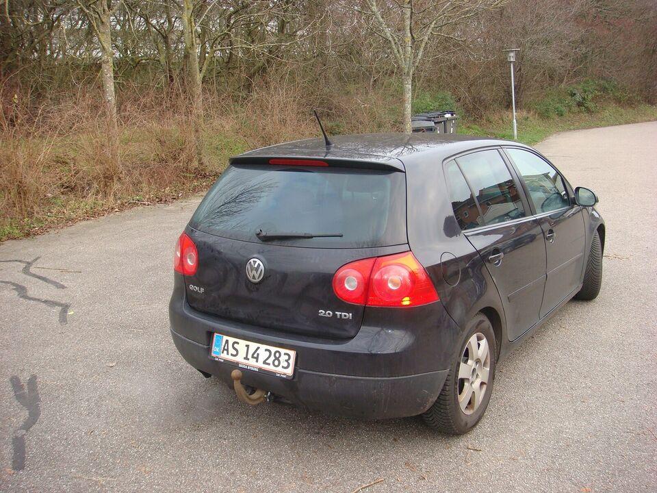 VW Golf V, 2,0 TDi 140 GT Sport, Diesel