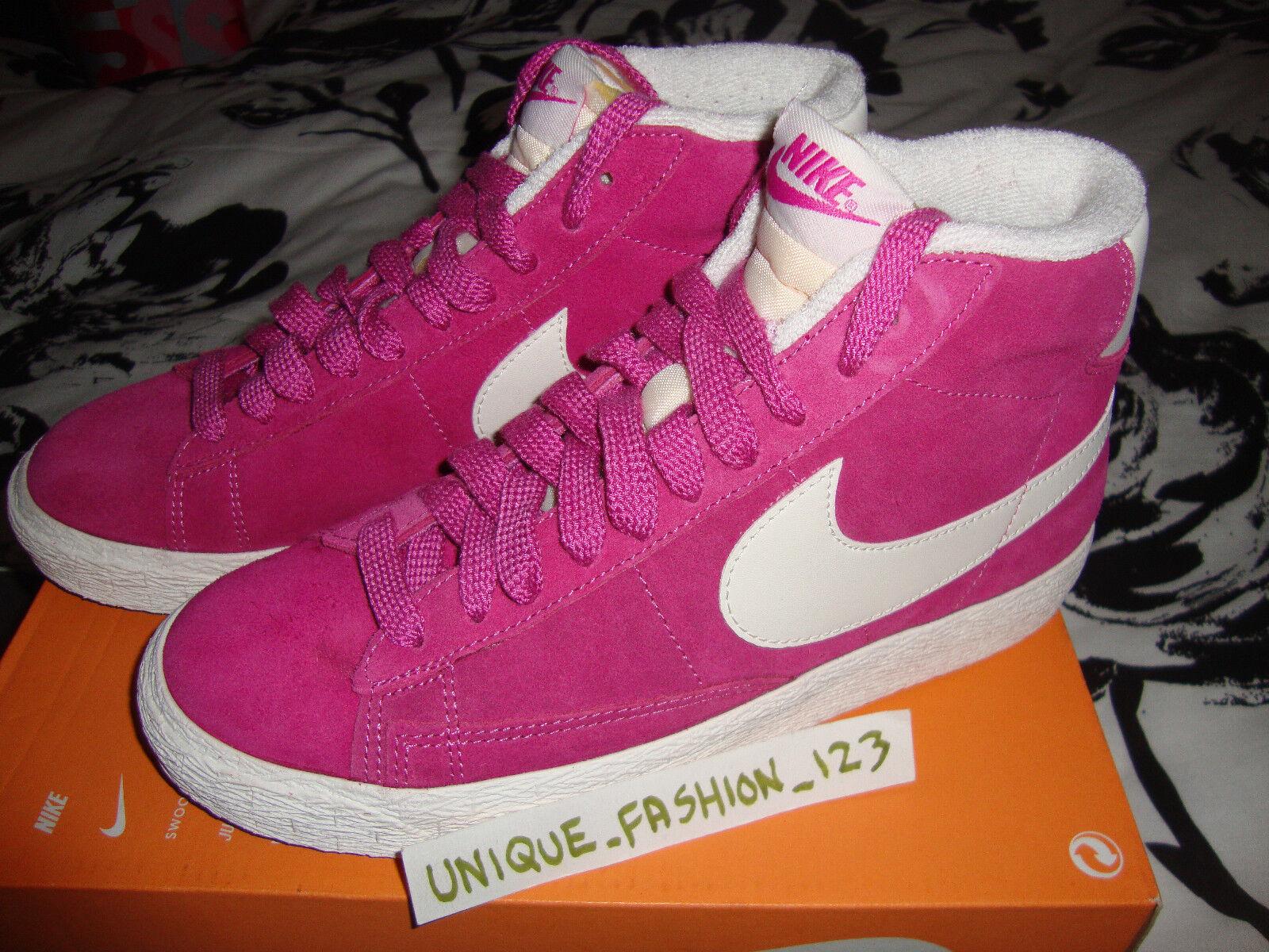 Wmns Nike Blazer Mid Suede Vintage Club Rosa VNTG 38.5 36 LIBERTY