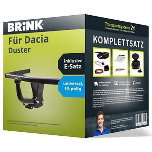 EBA Anhängerkupplung BRINK starr für DACIA Duster E-Satz NEU ABE inkl