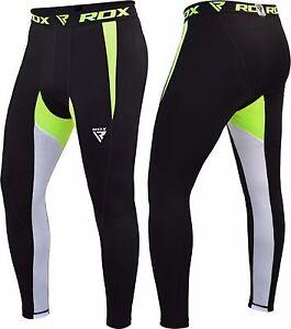 RDX-MMA-Pantalones-Termico-Compresion-Flexionar-Base-Layer-Corto-Boxeo-Ejercicio