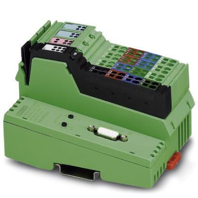 Bus Coupleur ASCII Nouveau PHOENIX 2878696 contact il mod BK DI8 DO4-PAC Modbus//RTU