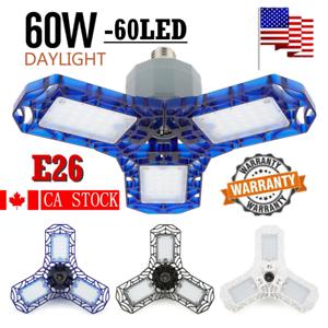 60W-6000LM-LED-Deformable-Garage-Light-Ceiling-Lamps-E26-Bulb-High-Quatity-HOT