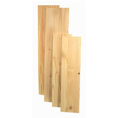 Natural Solid Wood Shelf Boards Various Sizes of Wooden Shelving Boards Home