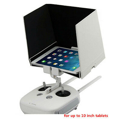 "Sunshade Sun Hood for DJI Inspire 1 Phantom 3 Tablet iPad Mini Air iPhone 8""9.7"""