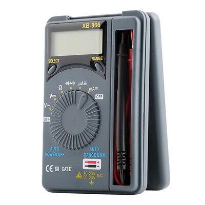 LCD Mini Auto Range AC/DC Pocket Digital Multimeter Voltmeter Tester Tool #A