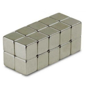 Lot of 100 50 25 10x10x10mm block Magnetic Cubes rare earth neodymium N48 3/8""