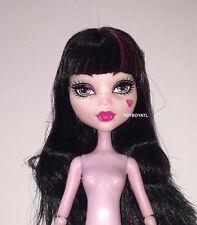 Monster High Boo York Frightseers Draculaura Nude Pink Vampire Doll NEW to OOAK