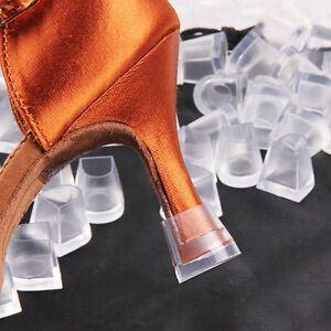 746924b40b Details about 30PCs Clear Wedding High Heel Shoe Protector Stiletto Cover  Stoppers