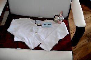 veste-tartine-et-chocolat-neuve-6-ans-blanche-froufrou-tres-douce
