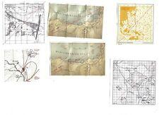 1/6 Scale, Dragon, DiD, BBI, WW2 Misc British Maps Africa, NWE, Far East
