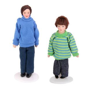 Dolls House Miniature Porcelain Son Boy Child children Doll Nursery BN LGW 1//12