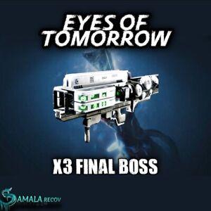 Eyes Of Tomorrow x 3 Final Boss | Xbox Ps4 | Pc Vía Cross Save -Deep Stone Crypt