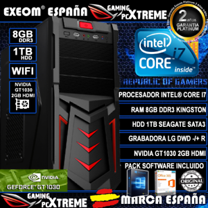 Ordenador-Gaming-Pc-Intel-i7-8GB-DDR3-1TB-HDD-WIFI-GT1030-2GB-de-Sobremesa-Juego