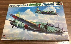 BNIB-Revell-1973-1-72-NAKAJIMA-Ki-49-DONRYU-HELEN-Japanese
