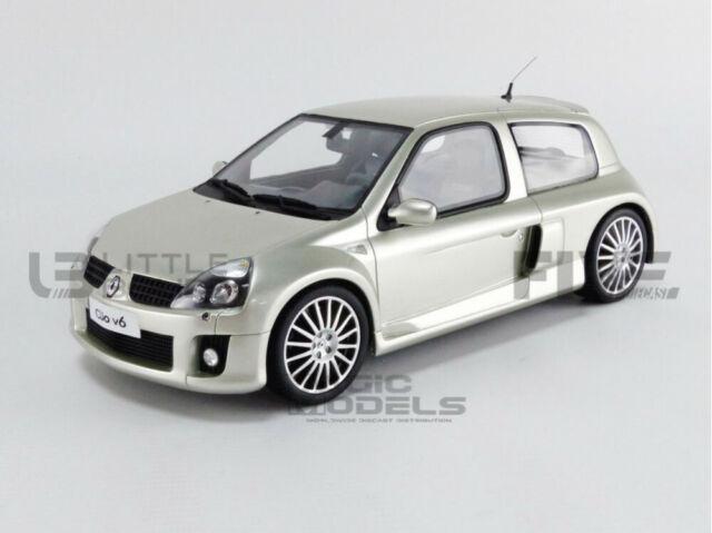 1//18 Ottomobile Renault Clio V6 Phase 2 Gris Titanium neuf  Livraison domicile