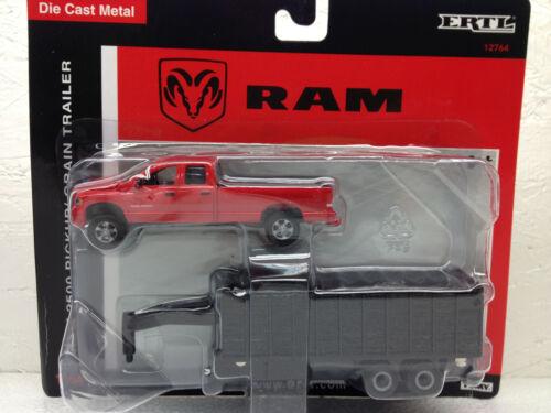 1//64 ERTL DODGE RAM 2500 W// GRAIN DUMP TRAILER