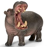 Schleich 14681 Hippopotamus Toy Wild Animal Model Figurine - Nip