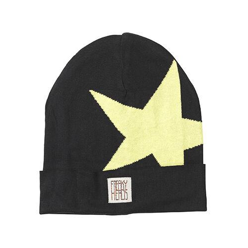 (p15) Finemente Lavorato A Maglia Berretto Freaky Testa Beanie Inverno Berretto Boyfriend Big Star + Logo