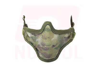 Costante Nuprol Camouflage Mesh Maschera Protezione Softair Milsim Bb Gratuito Uk Consegna-mostra Il Titolo Originale