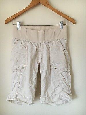 Taglia 6 Maternità Gap Pietra Pannello Elastico Cotone Pantaloncini < T6296-mostra Il Titolo Originale Sconto Online