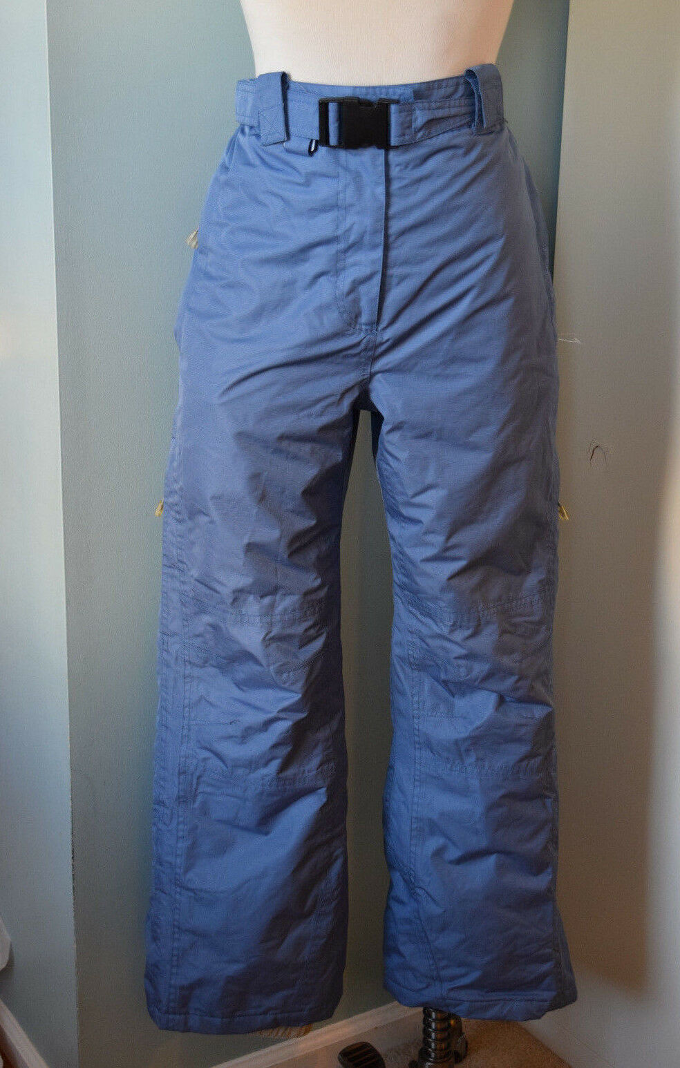 Trespass Snowboarding Ski pants women bluee S 4 6 Excellent Coldheat insulated