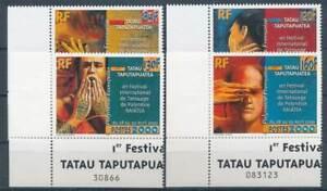 DéLicieux 267132) Franz. Polynésie Nº 815 ** Tatouage Festival-afficher Le Titre D'origine Officiel 2019