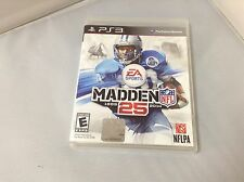 EA Sports Madden NFL 25 (Sony PlayStation 3, 2013) PS3 Rated E for Everyone