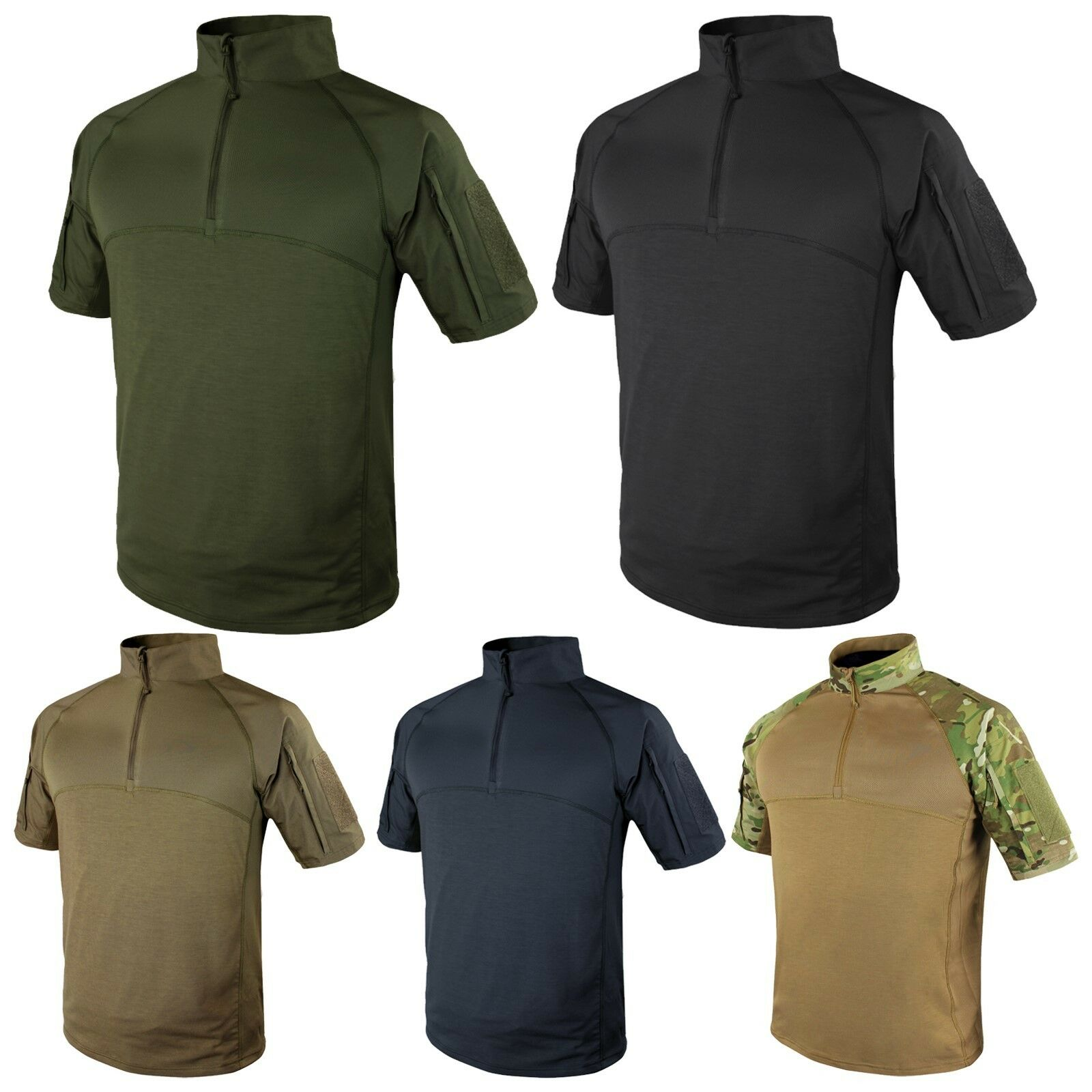 Condor 101144 Short Sleeve Tactical Breathable Mesh Anti-Static Combat Shirt