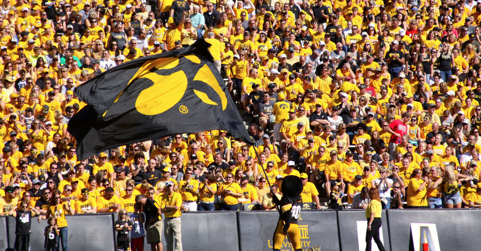 North Texas Mean Green at Iowa Hawkeyes Football