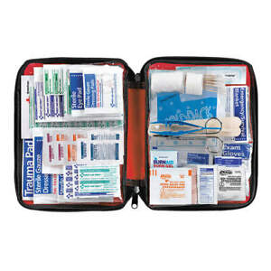 AMERICAN RED CROSS 711442 First Aid Kit,Bulk,Red,2