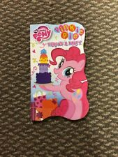 My Little Pony Pinkie Pie Throws a Party Board Book Hasbro 2010
