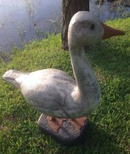 Life-size Duck Goose Swan Water Fowl Possibly Resin Fabulous Folk Art -VERY COOL