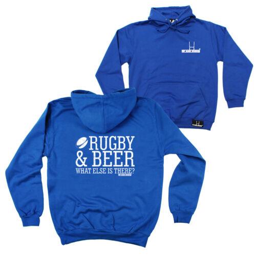 FB Rugby Sweat à capuche-Rugby et Beer-Nouveauté anniversaire cadeau de Noël Sweat à Capuche Pull
