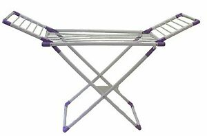 Image Is Loading Foldable Clothes Laundry Drying Rack Dryer Hanger Stand