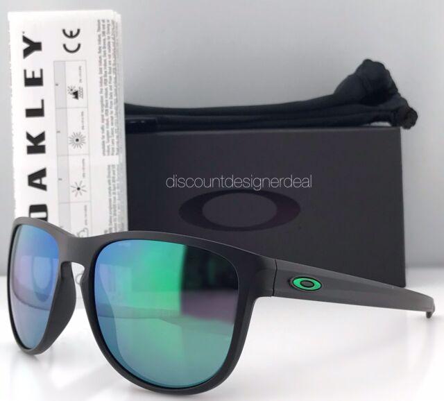 a60696ee51b Oakley Sliver R Sunglasses OO9342-05 Matte Black Jade Iridium Mirrored  Brand New