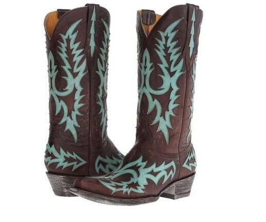 Old Gringo Virginia Vintage Brown Brass Cowboy Cowgirl Cowgirl Cowgirl Western Boots 8.5 Womens d9b9d8