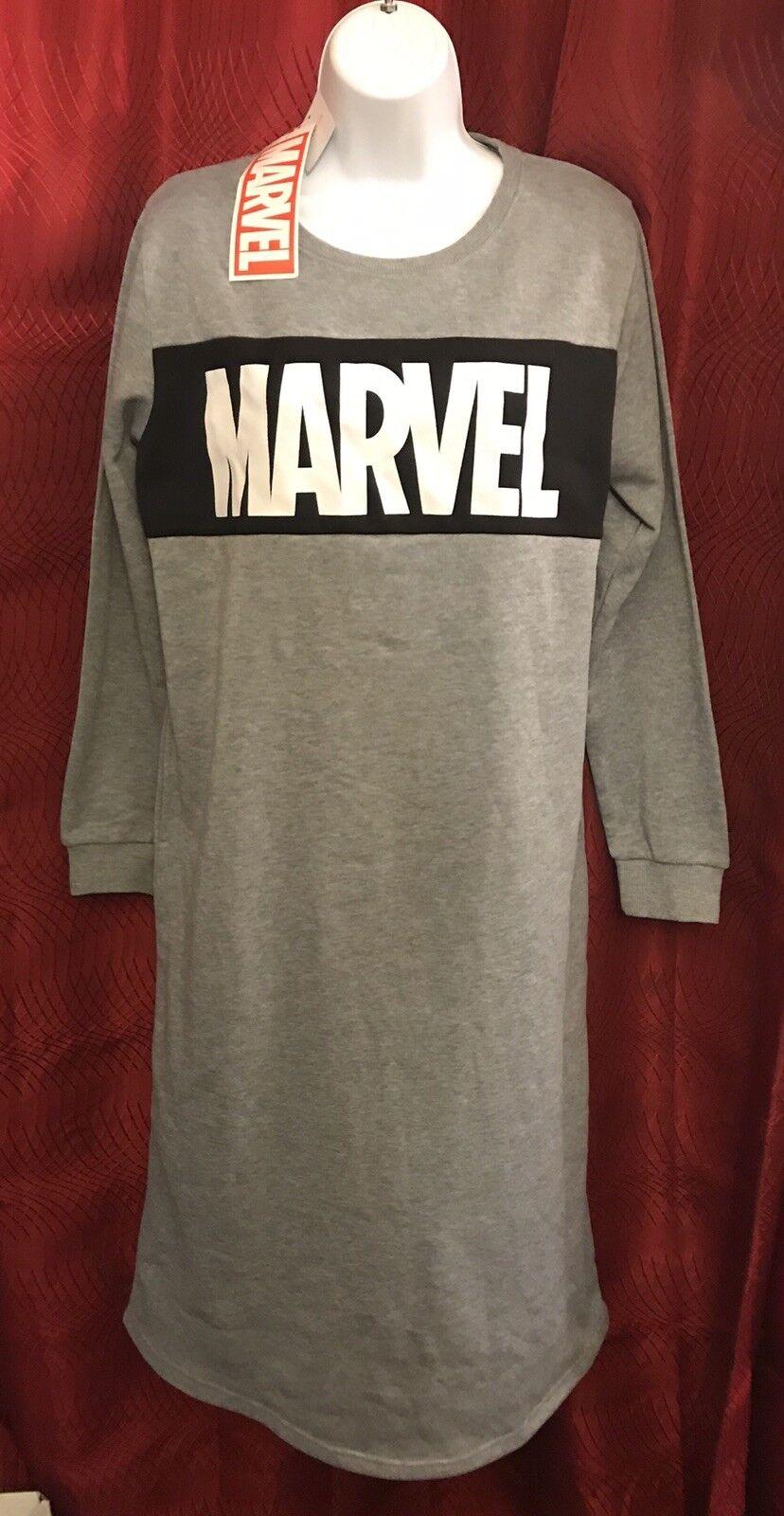 MARVEL COMICS Japón   Sudadera Camiseta Vestido De Longitud Completa  nuevo Moda De Moda   a la venta
