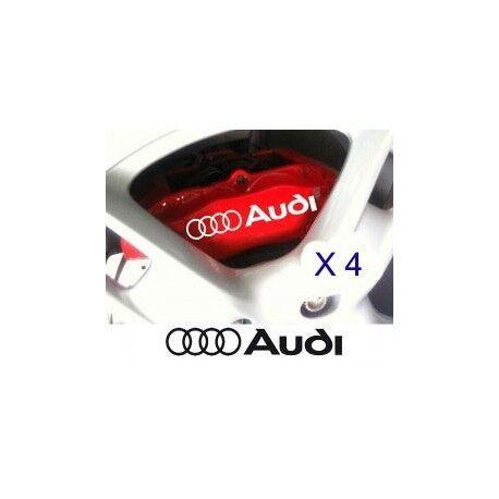Autocollant Frein Audi stickers étriers turquoise couleur