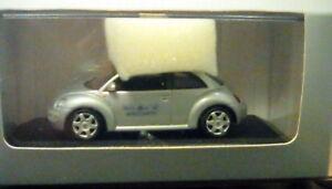 Rare Minichamps Vw Beetle Foire du jouet de Nuremberg de 50 ans, 1999 Promo 1:43 Nouvelle boîte