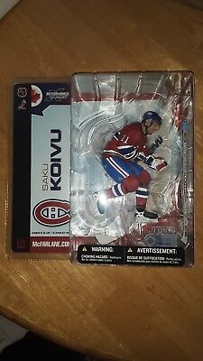 2006 McFarlane NHL Montreal Canadiens Red Jersey 3-Pack Koivu Aebischer Ryder
