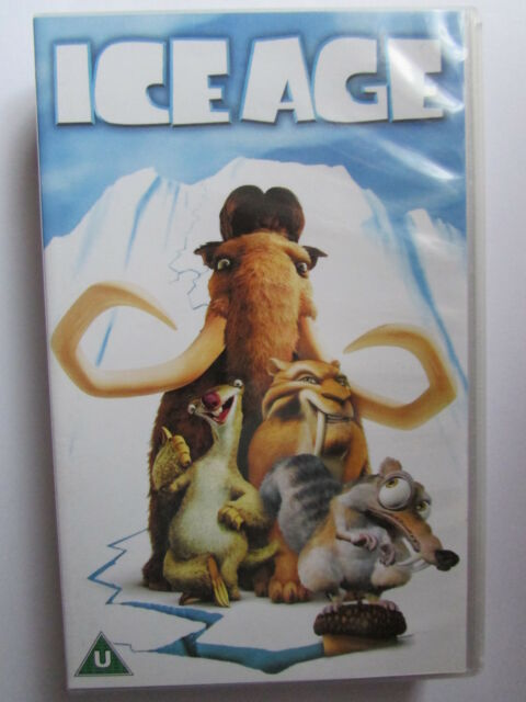 "ICE AGE VHS INCLUDES SCRATS NEW ADVENTURE "" GONE NUTTY "" mint condition."