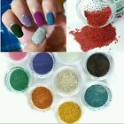 12 Colors Nail Art UV Micro Pearls Decoration Gel Beads Acrylic 3D Caviar