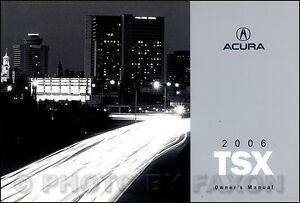 2006 acura tsx owners manual new original owner guide book oem rh ebay com acura tsx owners manual 2010 2007 acura tsx owners manual.pdf