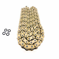 160 Link 525 Gold O Ring Drive Chain For Extended Swingarm Suzuki Dr Dl Gsxr