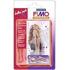 Fimo Motiv Form Lilly, Puppe, 7 Körperteile, 18 cm, Modelliermasse, modellieren