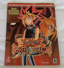 Prima's Official Strategy Guide - Yu-Gi-Oh! Reshef of Destruction - Very Good
