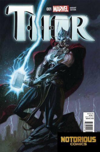 Thor #1 Robinson Variant 1:50 1st Jane Foster Marvel 1st Print EXCELSIOR BIN
