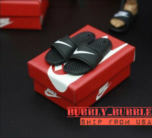 "1//6 Slides Sandals Slippers Nike Shoes A For 12/"" Hot Toys Figure SHIP FROM USA"