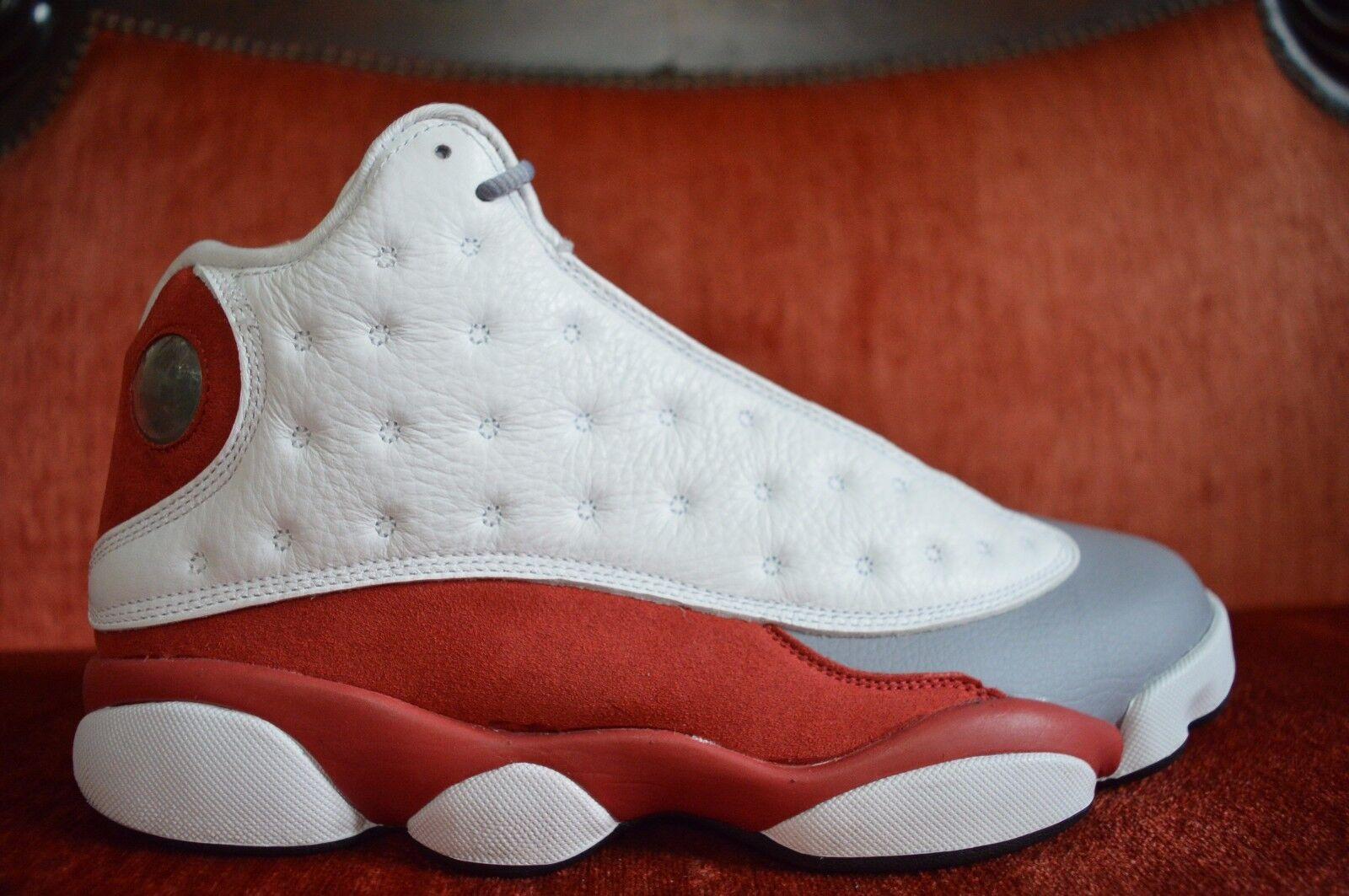 CLEAN Nike Air Jordan 13 Retro Grey Toe 2014 Size 9 414571-126 VNDS OG ALL